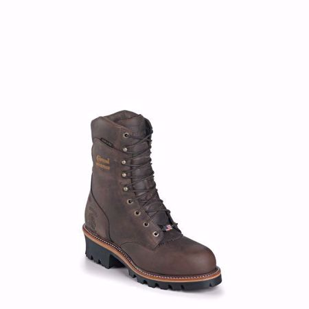 Picture of Chippewa Men's Arador Bay Apache Insulated Super Logger (Soft Toe)