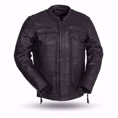 Picture of First Mfg. Men's Leather Jacket - Raider