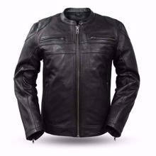 Picture of First Mfg. Men's Leather Jacket - Nemesis