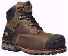 "Picture of Timberland PRO® Boondock 6"" Men's Comp Toe Work Boots - Brown"