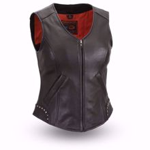 Picture of First Mfg. Ladies Leather Vest - Taylor