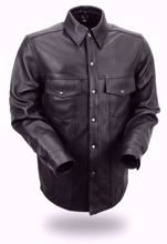 Picture of First Mfg. Men's Leather Shirt - Milestone
