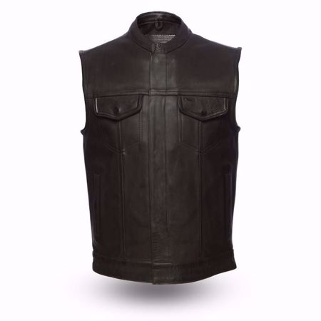 Picture of First Mfg. Men's Leather Vest - Hotshot