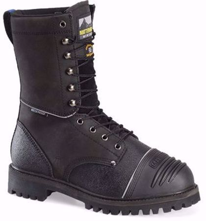Picture of Matterhorn MT903 Men's Mining Boots - 10 inch Waterproof Insulated Internal MetGuard