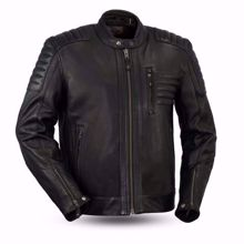 Picture of First Mfg. Men's Leather Jacket - Defender