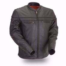 Picture of First Mfg. Men's Leather Jacket - Maverick
