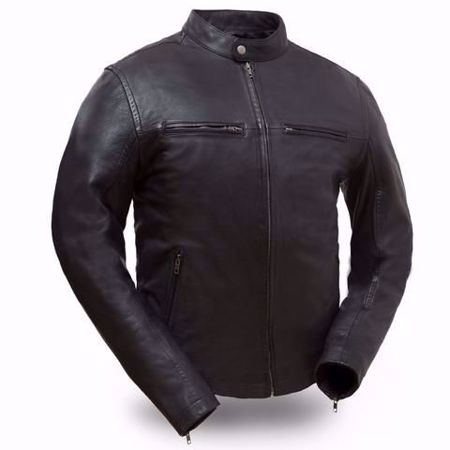 Picture of First Mfg. Men's Leather Jacket - Hipster