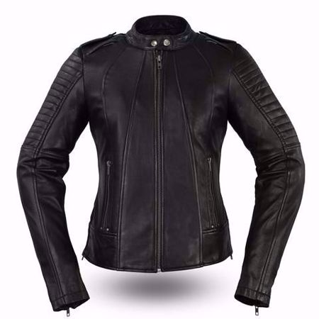 Picture of First Mfg. Ladies Leather Jacket - Biker
