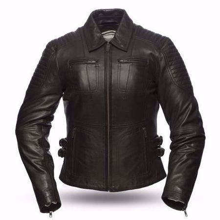 Picture of First Mfg. Ladies Leather Jacket - Speedy