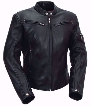 Picture of First Mfg. Ladies Leather Jacket - Athena