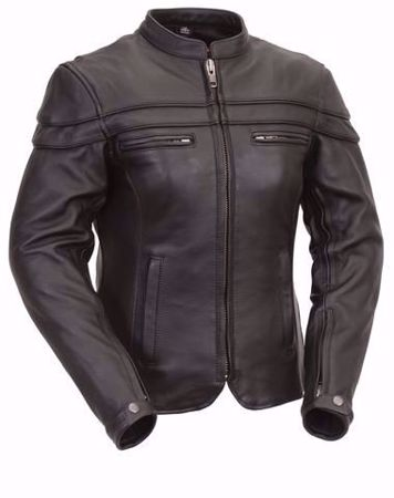 Picture of First Mfg. Ladies Leather Jacket - Maiden