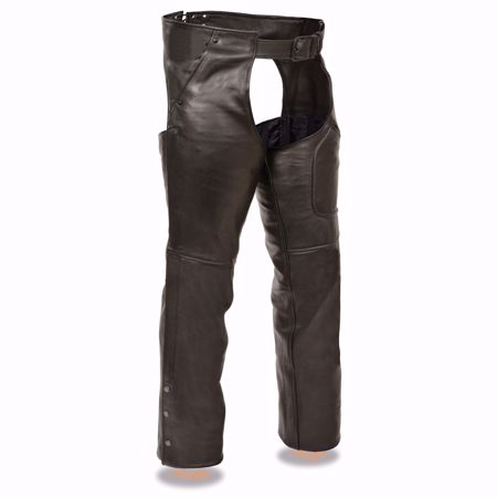 Picture of Shaf International Unisex Jean Style Leather Chaps