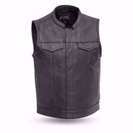 Picture of First Mfg. Men's Leather Vest - Blaster