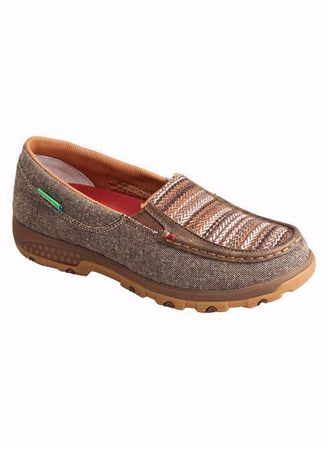 Picture of Twisted X Women's Slip-on Driving Moc