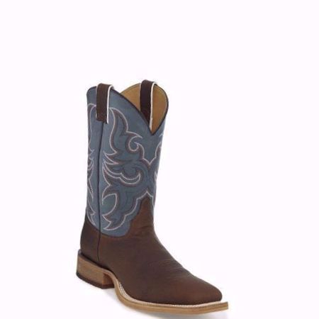 Picture of Justin Men's Caddo Chocolate Square Toe