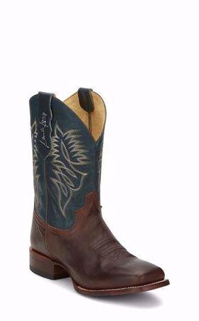 Picture of Justine Check Yes Men's Western Boot