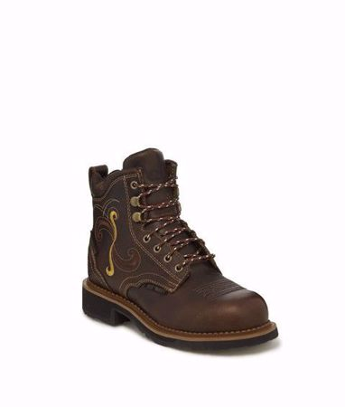 Picture of Justin Deanne Maple Women's Waterproof/Safety Toe Work Boot