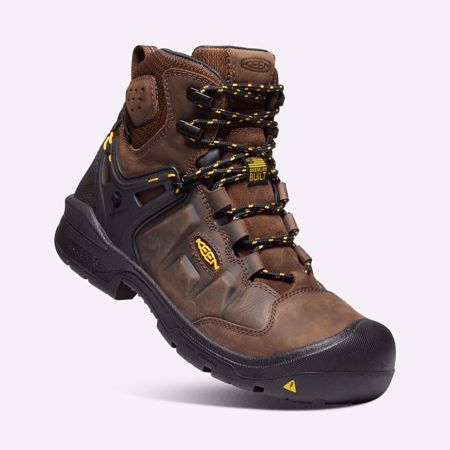 "Picture of Keen 6"" Men's Dover WP Safety Toe Work Boot"