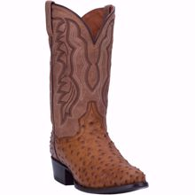 Picture of Dan Post Tempe Full Quill Ostrich Men's Exotic Boot