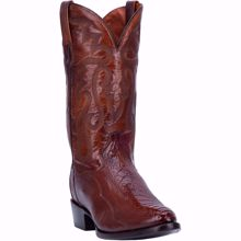 Picture of Dan Post Bellevue Ostrich Men's Exotic Leg Boot
