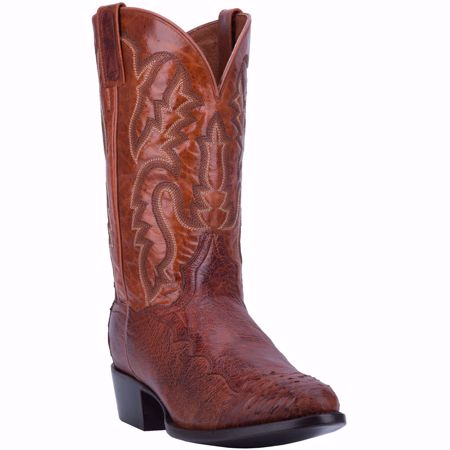 Picture of Dan Post Pugh Smooth Men's Ostrich Boot