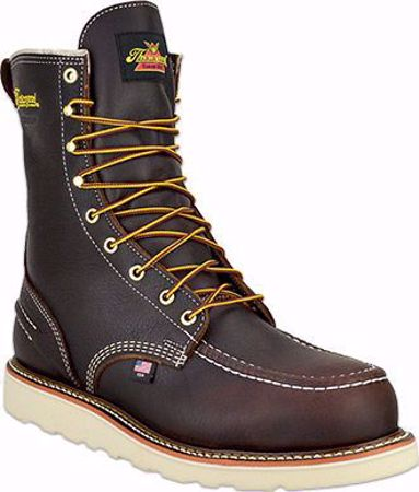 """Picture of Thorogood Men's 8"""" Moc Toe Waterproof Safety Toe"""