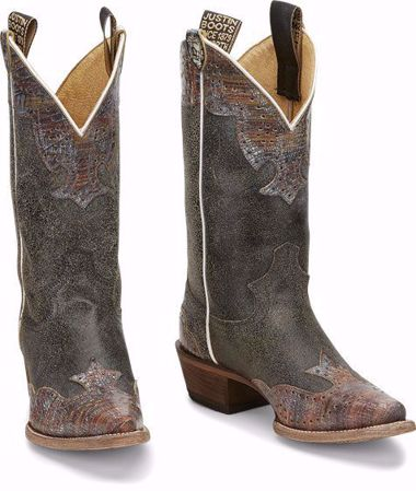 "Picture of Justin Women's 11"" Western Vera Boot"