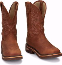 Picture of Justin Men's Western Safety Toe Work Boot