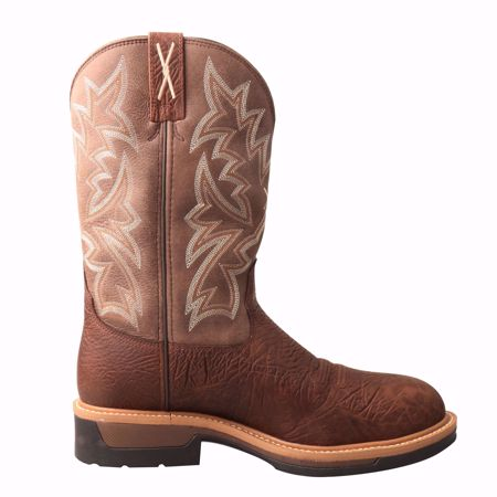 """Picture of Twisted X Men's 12"""" Cowboy Comp Toe Lite Western Work Boot"""