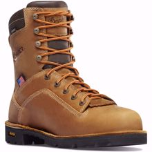 """Picture of Danner Men's  8"""" Quarry USA Work Boot Soft Toe"""