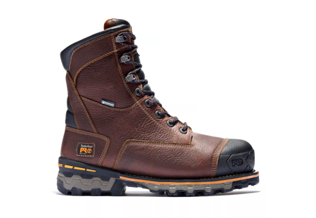 "Picture of Timberland Men's Boondock 8"" Soft Toe Insulated Boots"