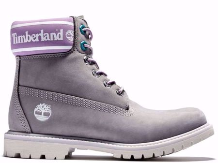 """Picture of Timberland Women's Purple and Grey 6"""" Boot"""