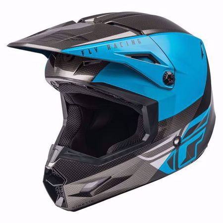 Picture of Fly Racing Youth Kinetic Straight Edge Off Road Helmet