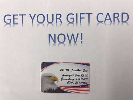 Picture of Gift Card for MM Parts and Leather Goods